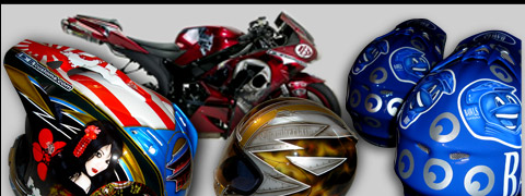 Custom Helmet Painting Motorcycle Painting And Airbrushing