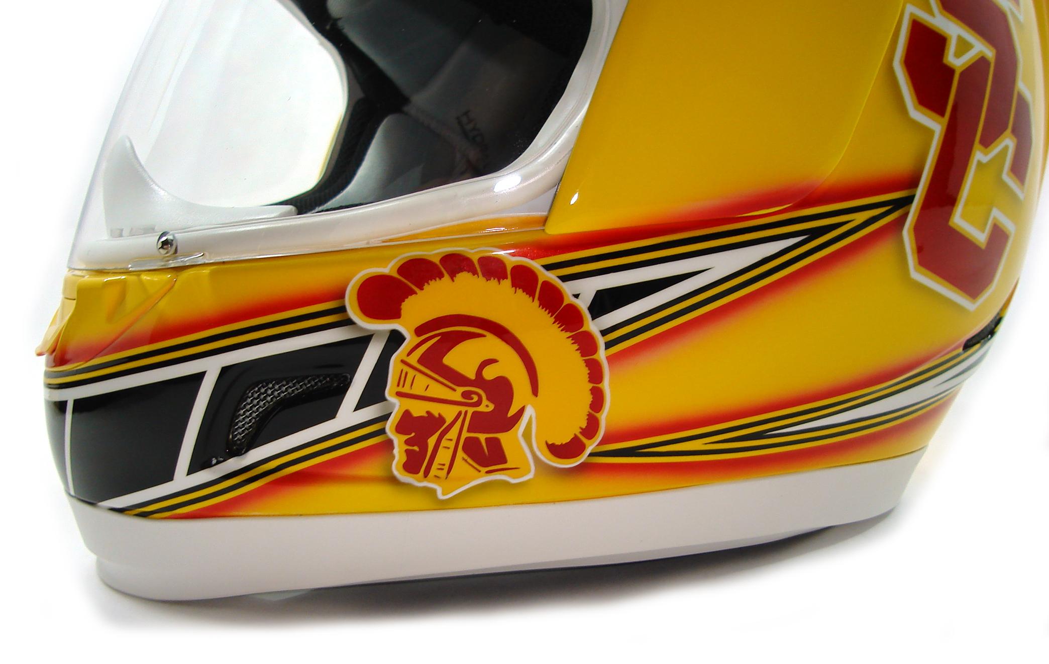 Custom Helmet Painting Los Angeles