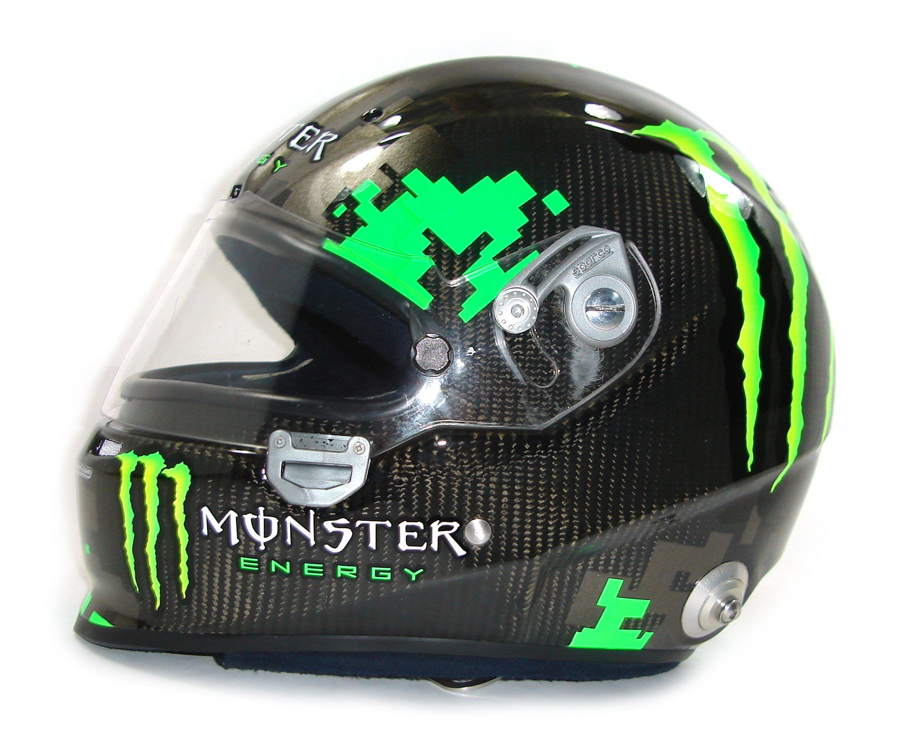 custom painted helmet gallery daigo saito monster energy. Black Bedroom Furniture Sets. Home Design Ideas